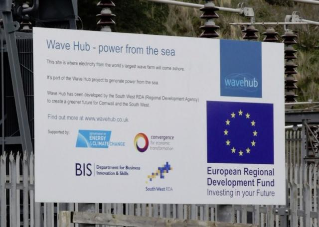 "Wave Hub has declared the wave energy business was ""unfortunately taking longer to develop"" (Photo: G. Ewens)"